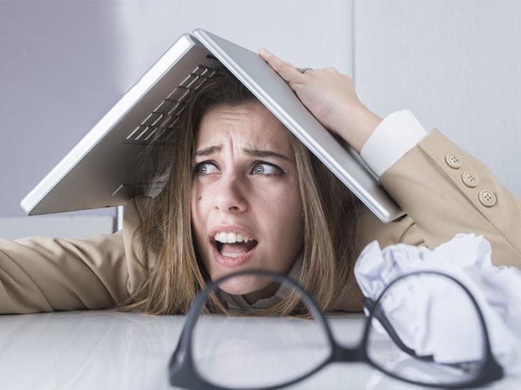 Online-Medien sorgen für analoge Stress-Opfer