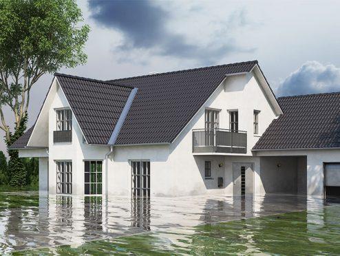 Deutsche Hausbesitzer fürchten Unwetterschäden