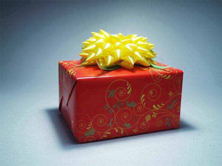 Wenn ein Geschenk ins Auge geht
