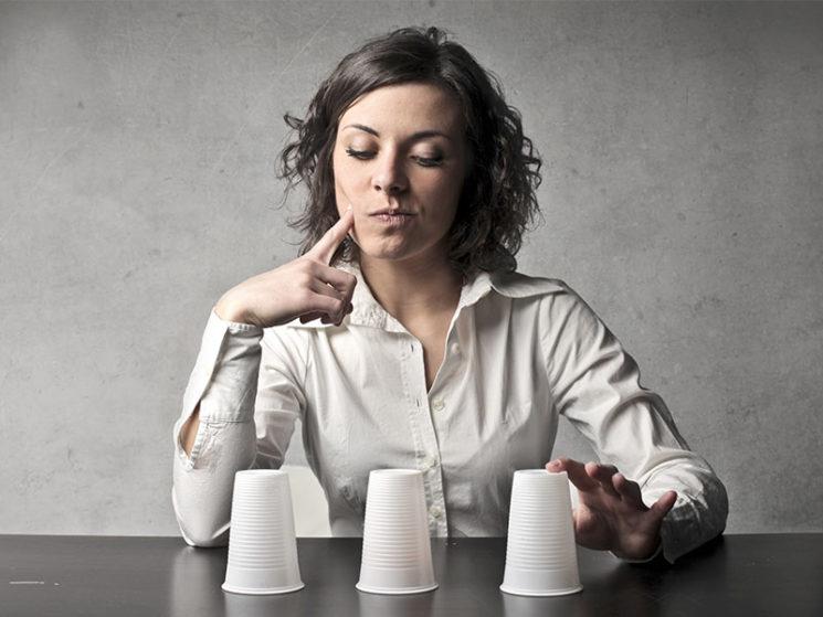 Frauen bei Finanzfragen zurückhaltend