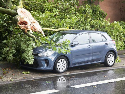 Pfingstunwetter: Über eine halbe Milliarde Euro Schaden