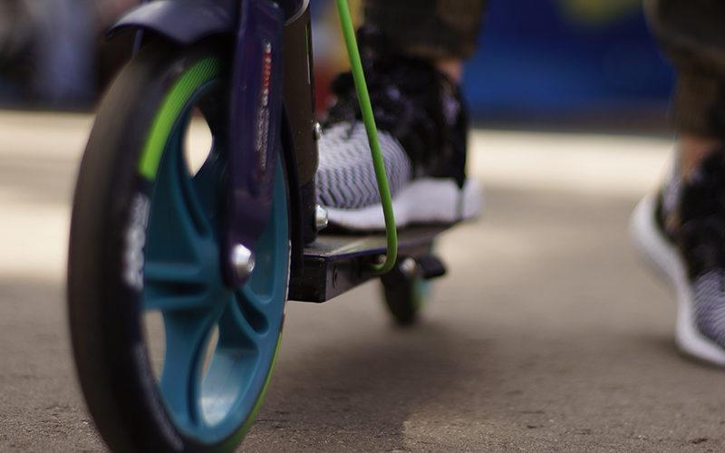 Neue E-Scooter-Versicherung der Barmenia