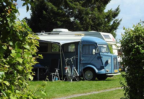 Dauerhaftes Wohnen auf dem Campingplatz