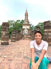 Malaika Mihambo während ihrer Thailand-Reise