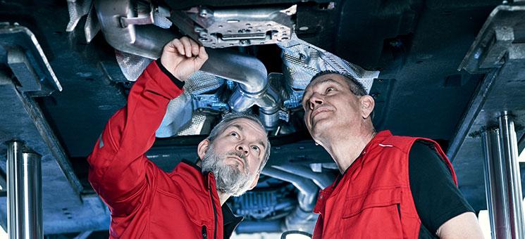 Autowerkstatt muss auf Reparaturbedarf hinweisen