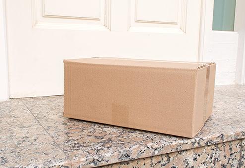 Wer haftet für ein beschädigtes Paket?