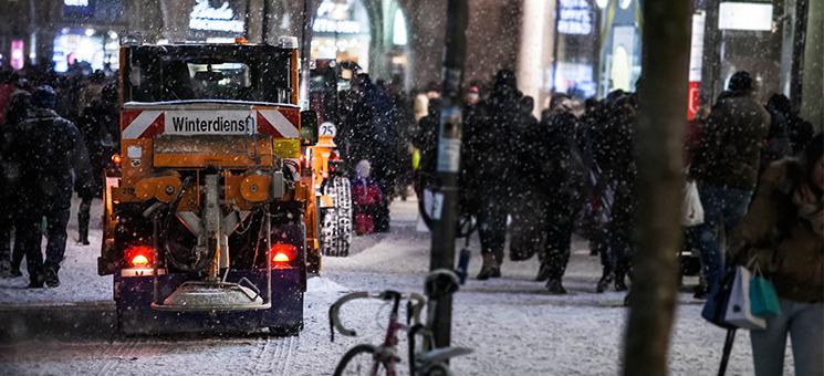 Glatteis: Räumpflicht in Silvesternacht