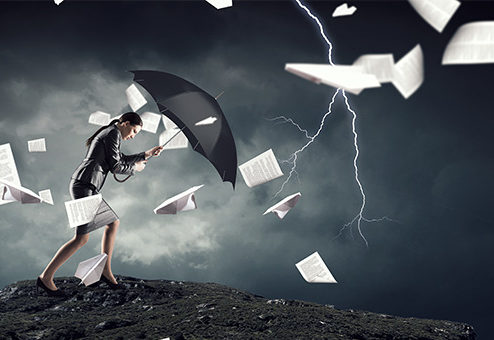 Orkan Sabine richtet versicherte Schäden von rund 600 Millionen Euro an