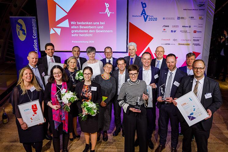 Gewinner des bAV-Preises 2020
