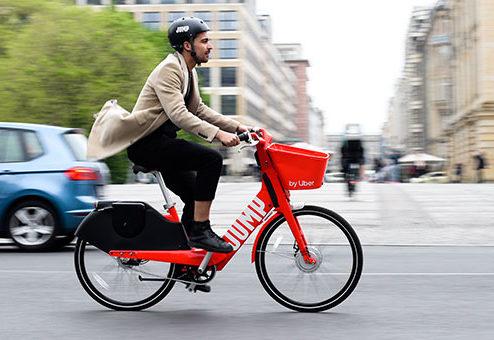 Uber und Allianz: europaweite Partnerschaft für JUMP-E-Bikes und -Scooter