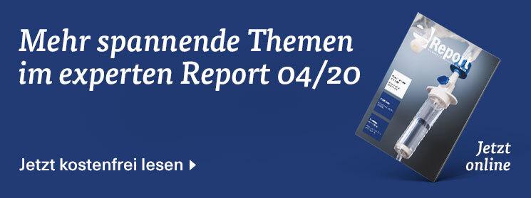 Mehr zum Thema in der Ausgabe 04/20 des experten Report