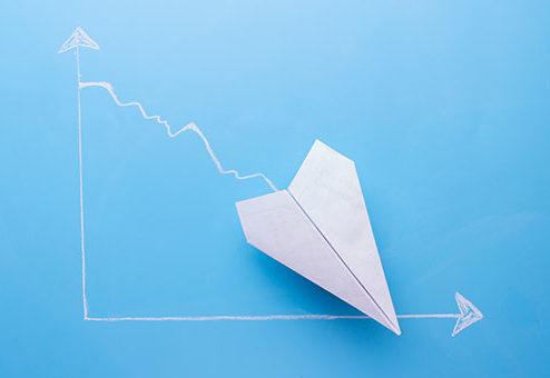 Aktien-Nachfrage stark rückläufig