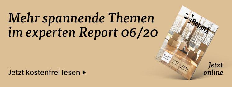 Mehr zum Thema in der Juni-Ausgabe des experten Report