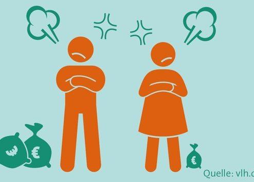 Scheidung, Rente, Steuern: Versorgungsausgleich oder Ausgleichszahlung