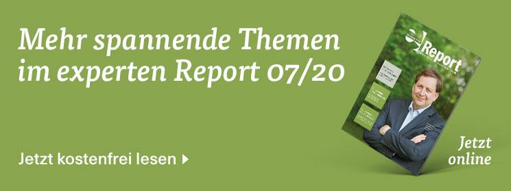 Mehr zum Thema gibt es in der neuen Ausgabe des experten Report