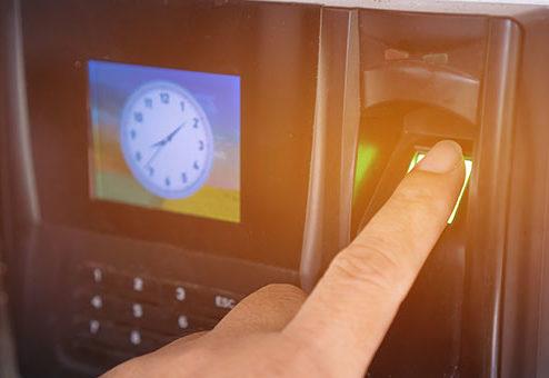 Arbeitszeiterfassung per Fingerabdruck erlaubt?