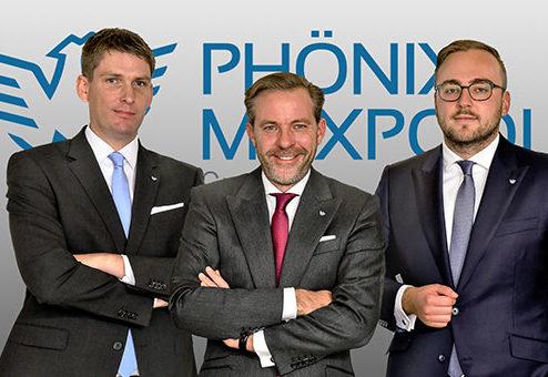 PHÖNIX MAXPOOL Gruppe mit zwei neuen Vorstandsmitgliedern