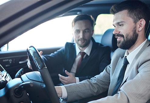 Elektroauto-Probefahrt: So sind sie abgesichert